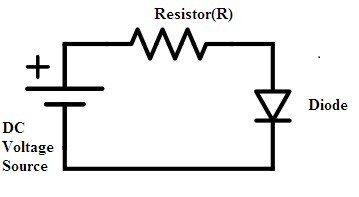 diode-operating-in-forward-bias-for-the-analysis-of-dc-load