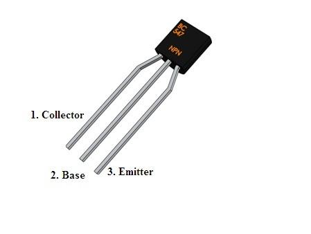 NPN Transistor Pin Out