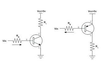 transistor wiring diagram transistor as a switch circuit diagram  working   applications  transistor as a switch circuit