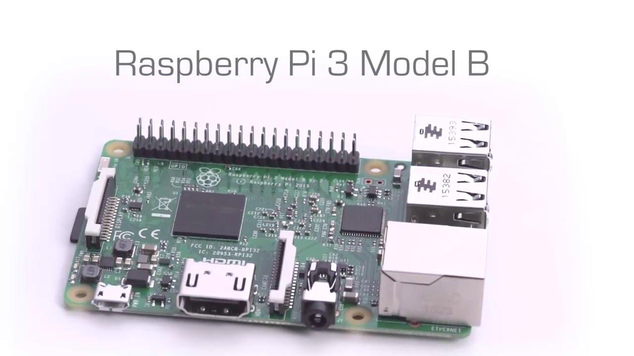 Model B Raspberry pi Board