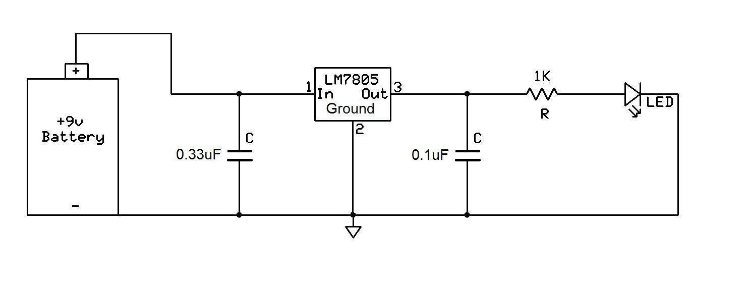 7805 Circuit