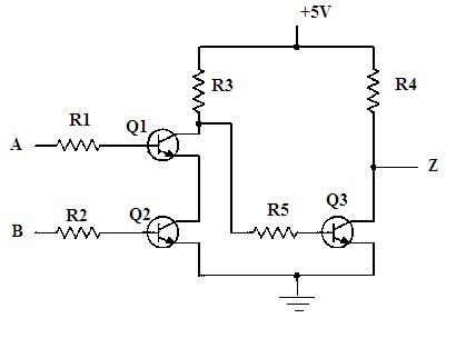 AND Gate (Using Transistors)