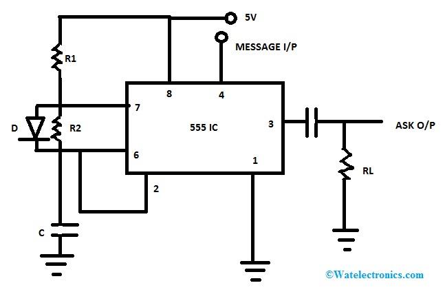 Amplitude Shift Keying Circuit Diagram