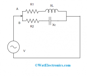 Admittance of Parallel Circuit
