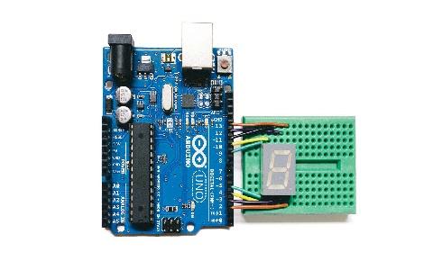 7 Segment Clock Using Arduino