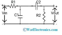 Band Stop Filter Circuit