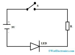 Basic LED Circuit Diagram