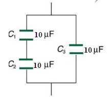 Capacitors in Series and Parallel Combination