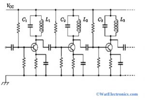 Stagger Tuned Amplifier Circuit Diagram