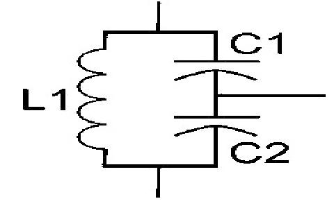 Collpits Oscillator Diagram