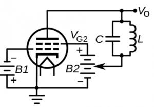 Dynatron Oscillator Circuit