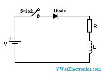 Freewheeling Diode Circuit
