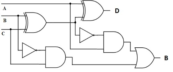 Full Subtractor Circuit