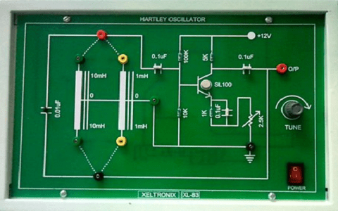 Hartley oscillator