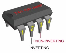 IC 741 Op Amp Pin Configuration and Working