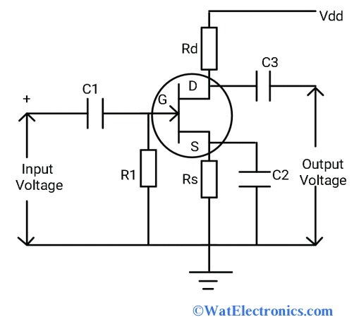 Common Source Amplifier Circuit
