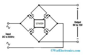 Ideal Diode Bridge Controller Circuit