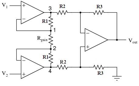Instrumentation-Amplifier-Circuit