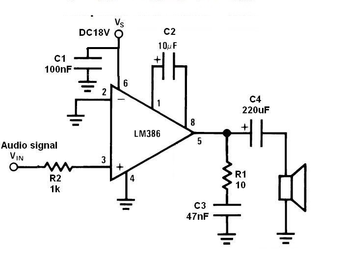 LM386 Audio Amplifier
