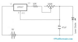 Laser Diode Circuit Diagram