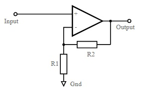 Non-Inverting Operational Amplifier Circuit