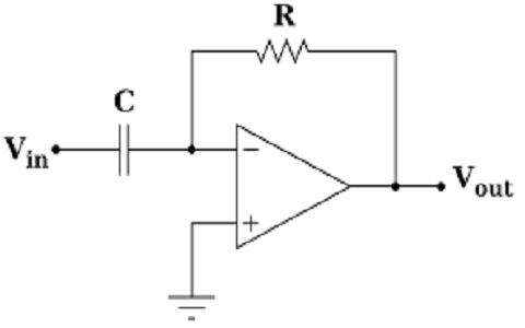 Op Amp Differentiator Diagram