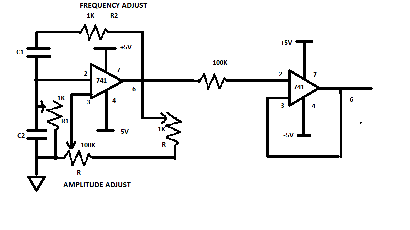 Circuit Diagram of Pulse Amplitude Modulation