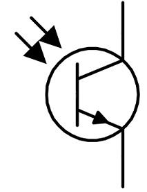 Phototransistor Symbol