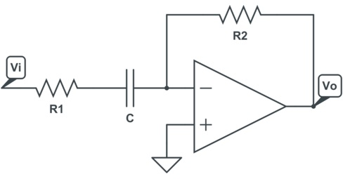Practical Op-Amp Differentiator Circuit
