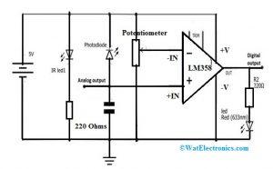 Proximity Sensor Circuit Diagram