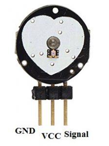 Pulse Sensor Pin Configuration