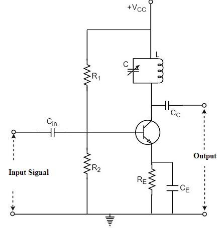 Single Tuned Amplifier