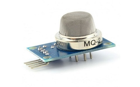 Smoke Detection with MQ-2 Gas Sensor