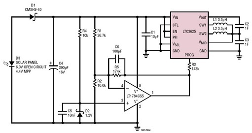 Super Capacitor Charging Circuit