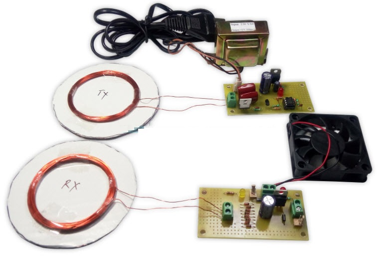 Wireless Power Transfer Project Kit