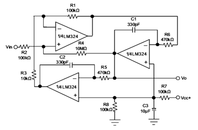 LM324 Comparator IC Circuit Working And Its Applications