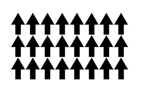 Ferromagnetic Material Alignment