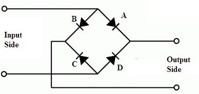 full wave bridge rectifier basic model
