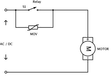 Varistor-In-Ac-Dc-Motors